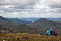Arrochar Alps from Ben Vorlich Summit