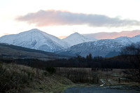 Dawn View - East to Ben More and Stobb Binnein