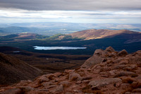Loch Morlich from Cairngorm Plateau
