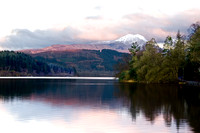 Ben Lomond over loch Ard, Early Spring